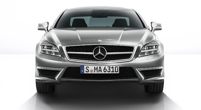 2018 Mercedes-Benz CLS-Class front