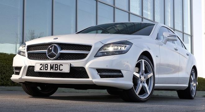 2018 Mercedes-Benz CLS-Class grille