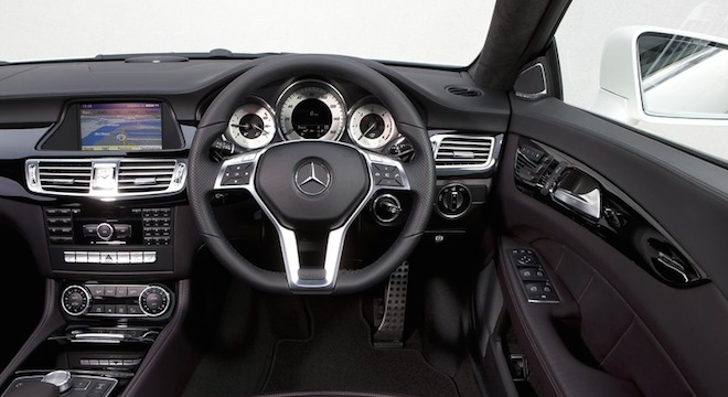 2018 Mercedes-Benz CLS-Class steering wheel