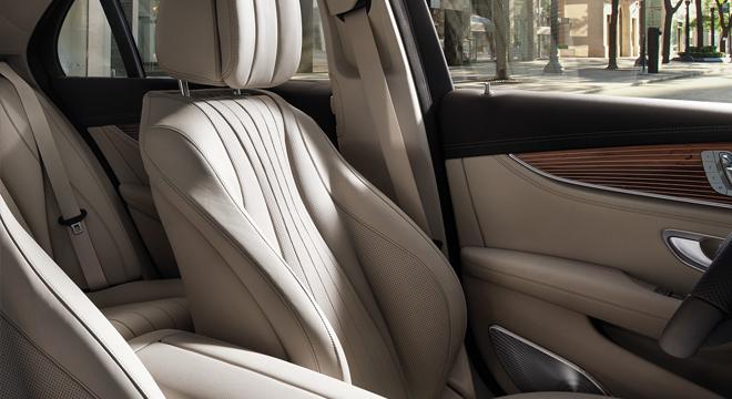 2018 Mercedes-Benz E-Class seats