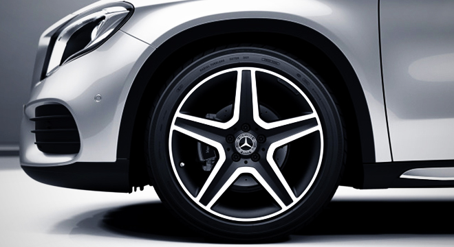 2018 Mercedes-Benz GLA wheels