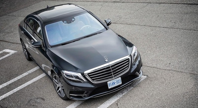 2018 Mercedes-Benz S-Class grille