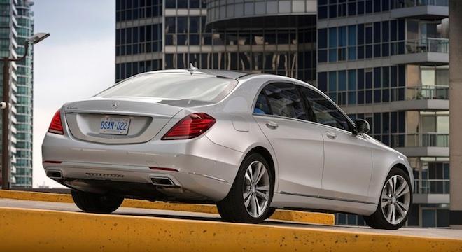 2018 Mercedes-Benz S-Class rear