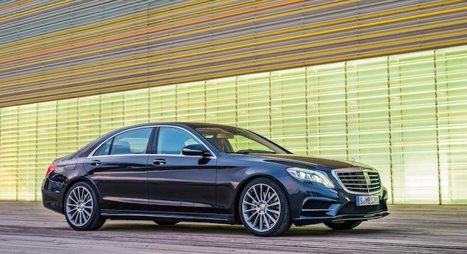2018 Mercedes-Benz S-Class side