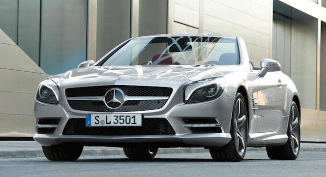 2018 Mercedes-Benz SL-Class front