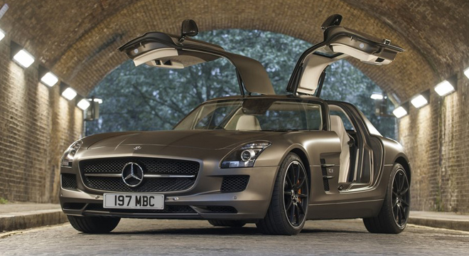 2018 Mercedes-Benz SLS-Class beauty