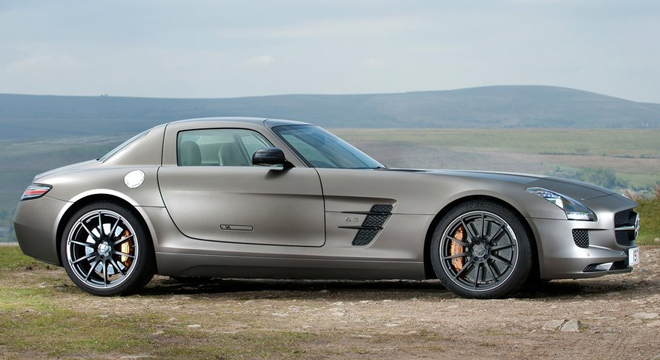 2018 Mercedes-Benz SLS-Class side