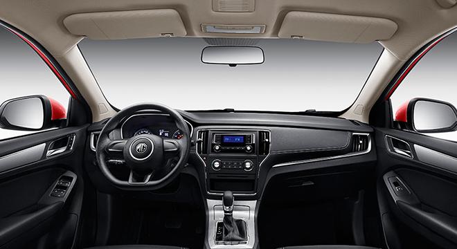 2018 MG RX5 interior