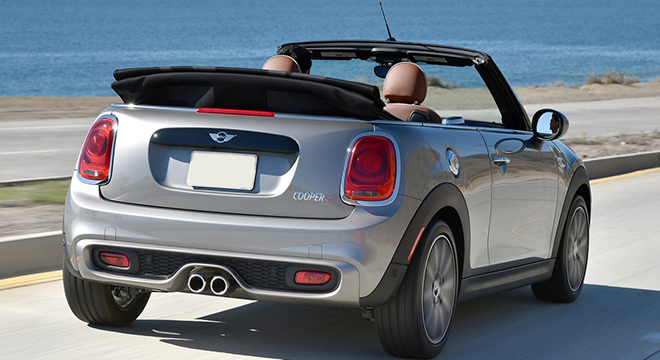 2018 Mini Convertible Philippines rear