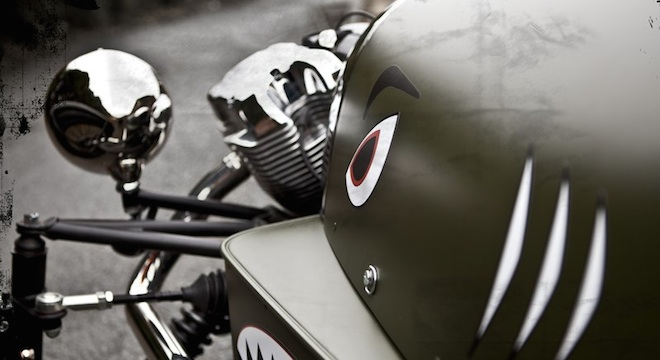 2018 Morgan 3 Wheeler lights