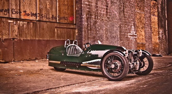 2018 Morgan 3 Wheeler side