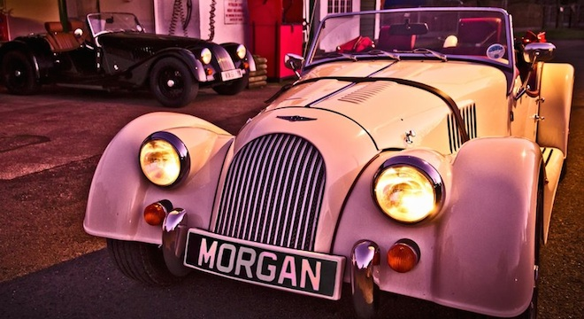 2018 Morgan Plus 4 2.0L grille