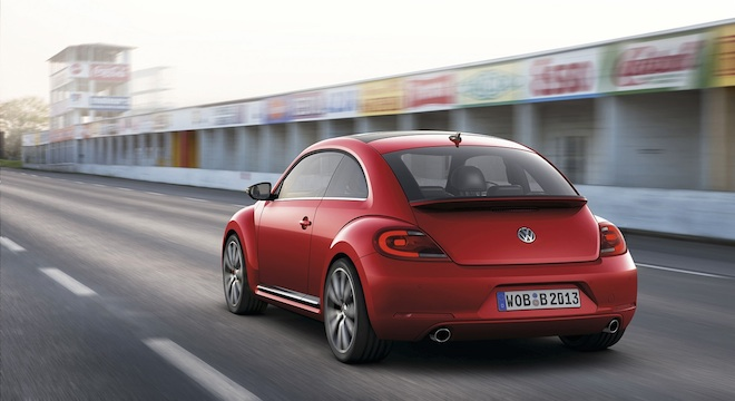 2018 Volkswagen Beetle rear