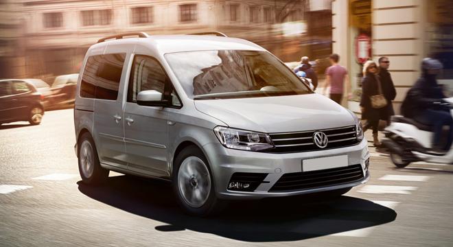 2018 Volkswagen Caddy front