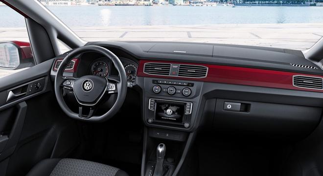 2018 Volkswagen Caddy interior