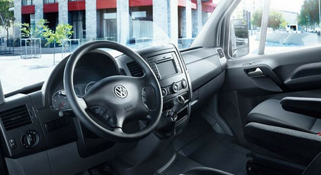 2018 Volkswagen Crafter interior