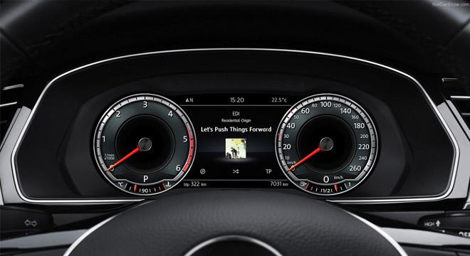 2018 Volkswagen Passat gauge clusters