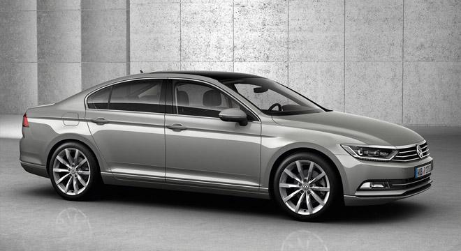 2018 Volkswagen Passat side