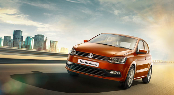 2018 Volkswagen Polo Hatch front