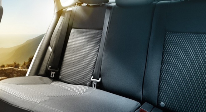 2018 Volkswagen Polo seats