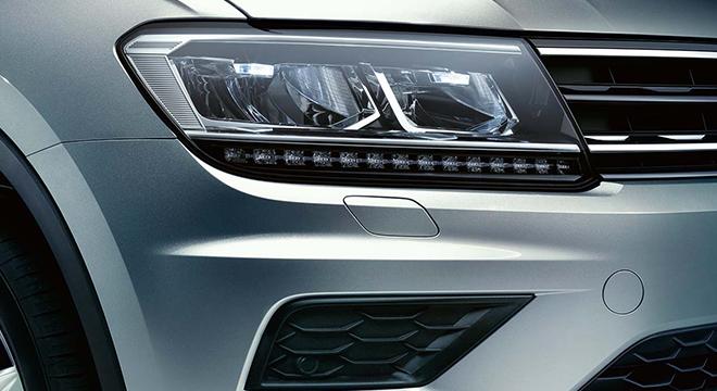 2018 Volkswagen Tiguan headlights