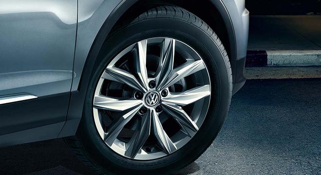 2018 Volkswagen Tiguan wheels
