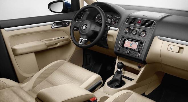 2018 Volkswagen Touran dashboard