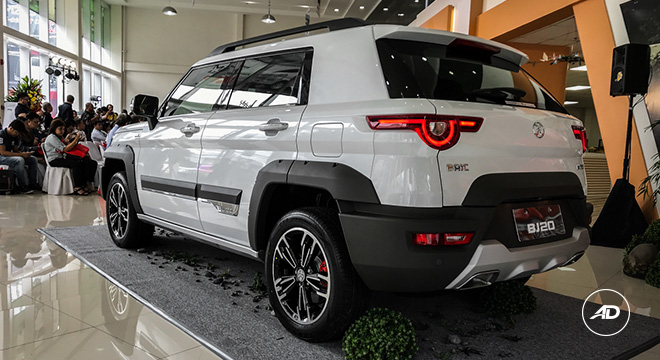 2019 BAIC BJ20 rear