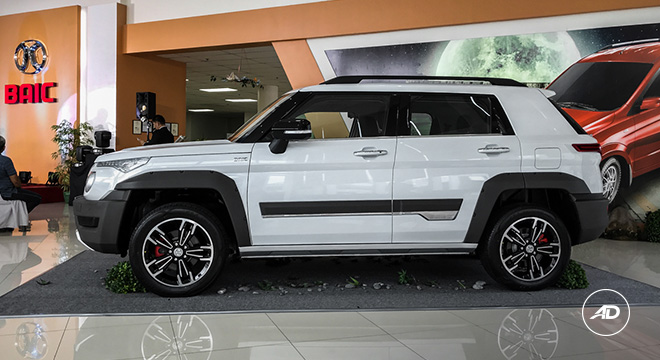 2019 BAIC BJ20 side