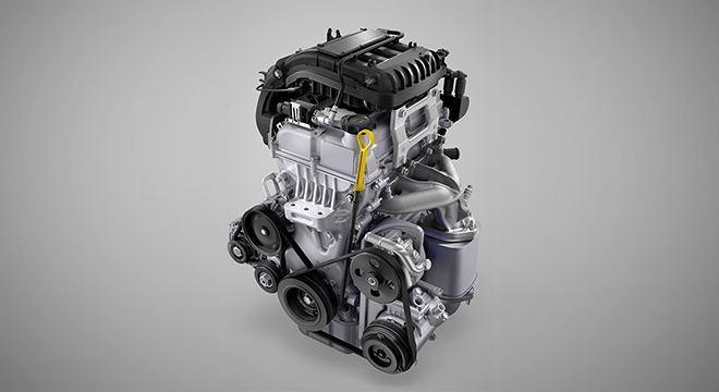 2019 Chevrolet Spark engine