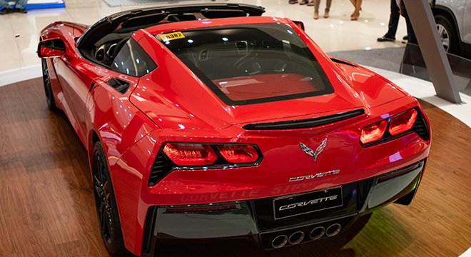 2019 Chevrolet Stingray rear