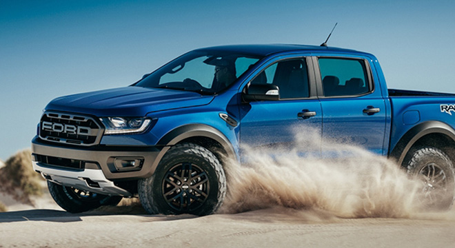 2019 Ford Ranger Raptor Philippines action
