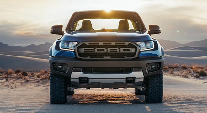 2019 Ford Ranger Raptor Philippines front