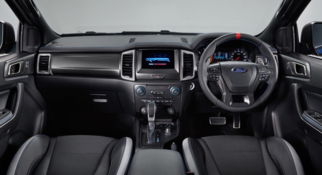 2019 Ford Ranger Raptor Philippines interior