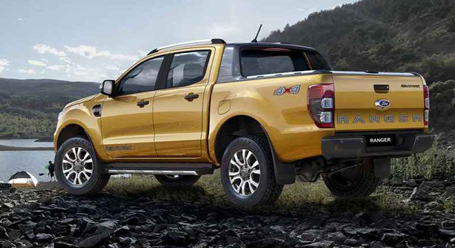 2019 Ford Ranger Rear