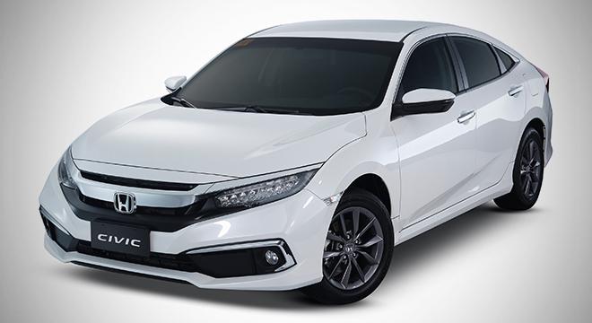 2019 Honda Civic 1.8 platinum white pearl