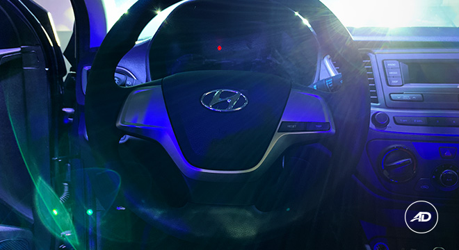 2019 Hyundai Accent steering wheel