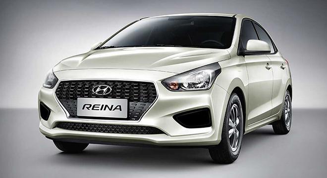 2019 Hyundai Reina exterior front polar white