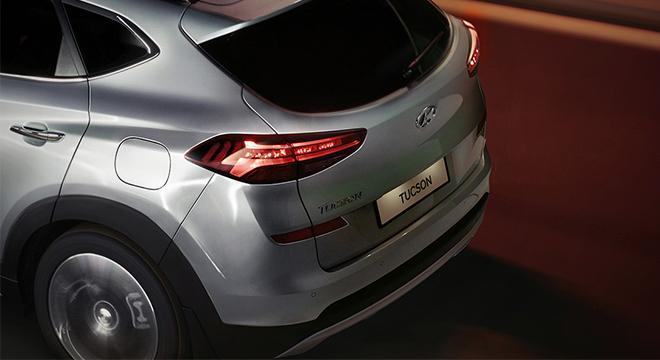 2019 Hyundai Tucson tailgate