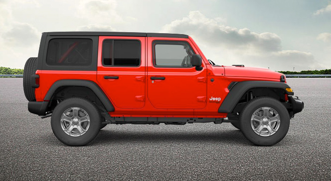 2019 Jeep Wrangler Unlimited Sport JL