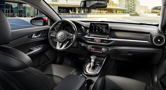 2019 Kia Forte interior dashboard side