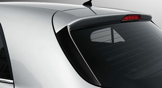 2019 Kia Rio exterior rear spoiler