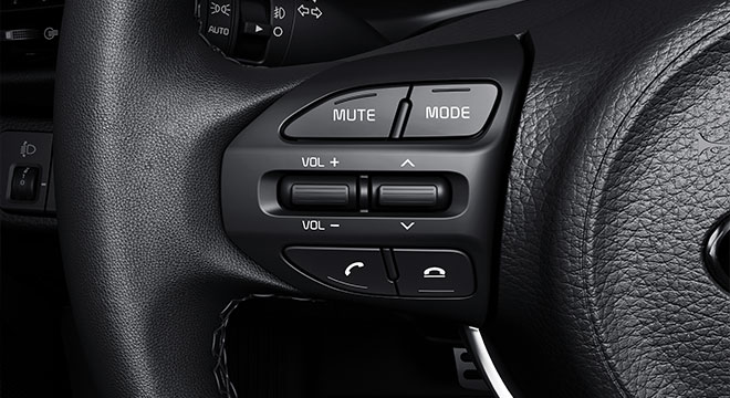 2019 Kia Rio Interior  steering wheel controls