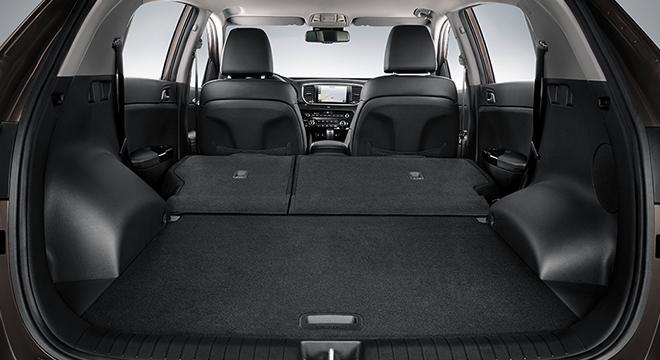 2019 Kia Sportage trunk