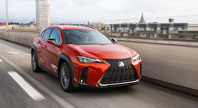 2019 Lexus UX Blazing Carnelian