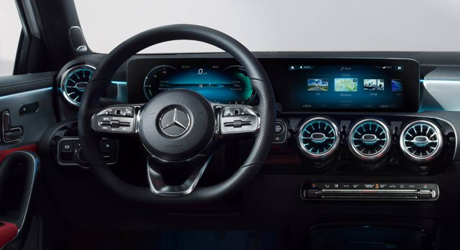 2019 Mercedes-Benz A-Class dashboard