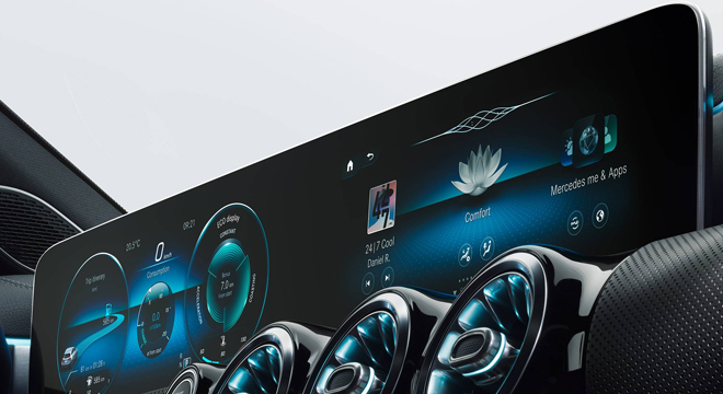 2019 Mercedes-Benz A-Class head unit