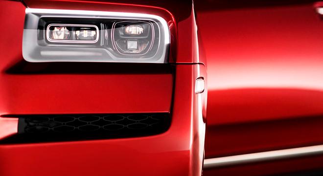 2019 Rolls-Royce Cullinan headlights