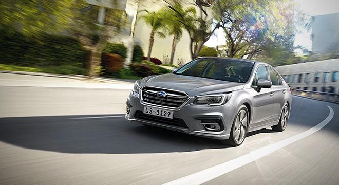 2019 Subaru Legacy facelift