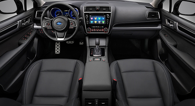 2019 Subaru Legacy interior